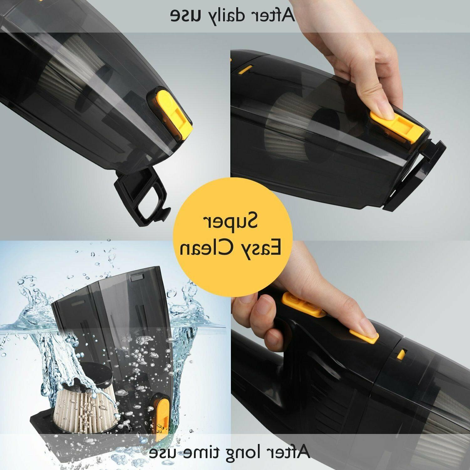 Cordless Hand Cleaner Cyclonic Hair