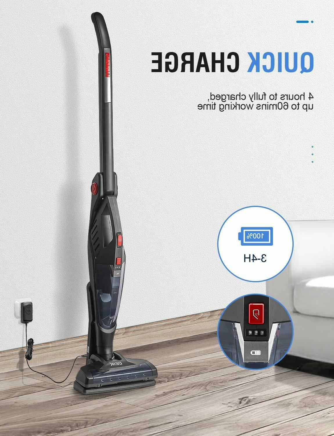 DEIK Vacuum Rechargeable 2in1 180°