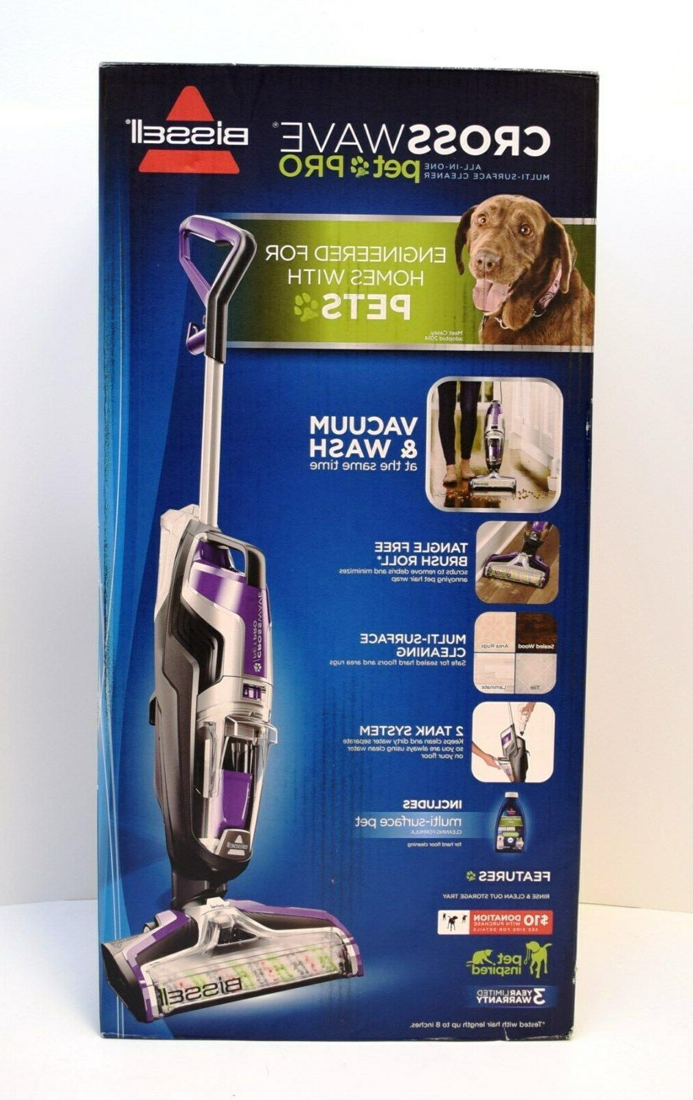 Wet Dry Vacuum Cleaner and Mop BISSELL Crosswave Pet Pro All