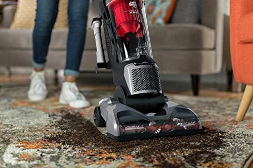 Dirt Max Vacuum Cleaner, with No Loss Red