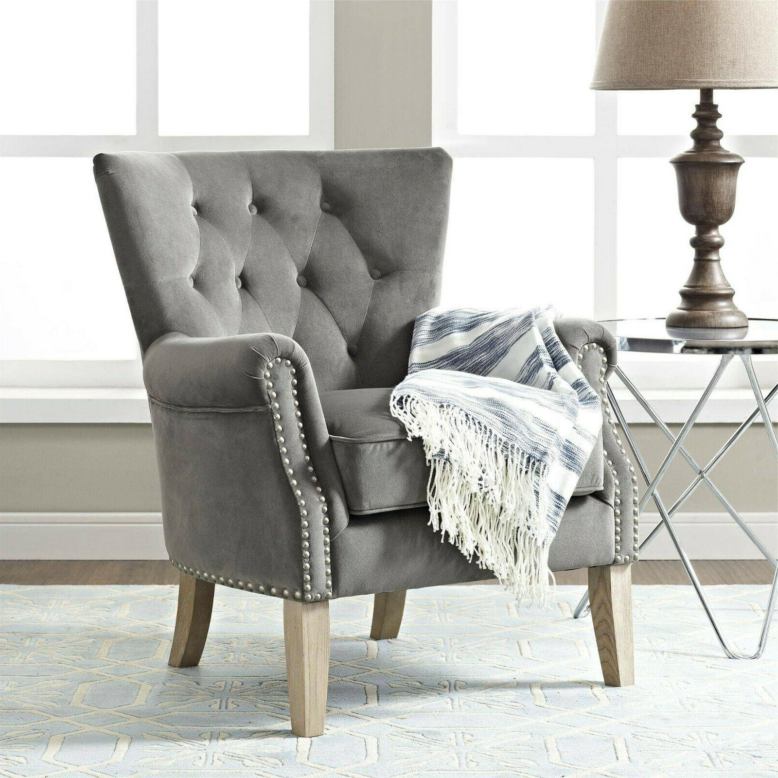 Fur Accent Chair Wingback Chairs for Living Room RV Clearanc