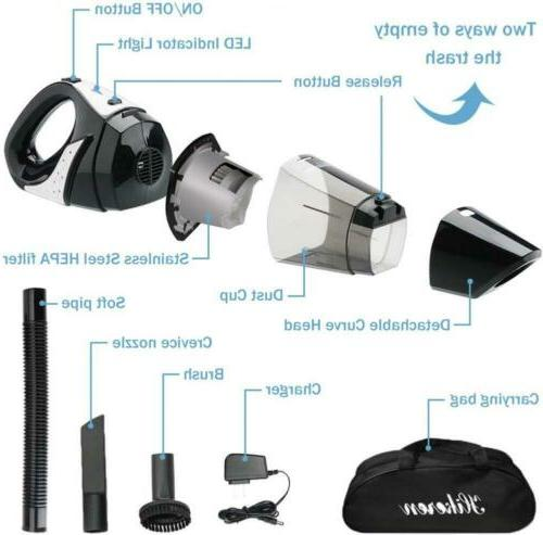 Handheld Cleaner, 12V Quick Charge,...