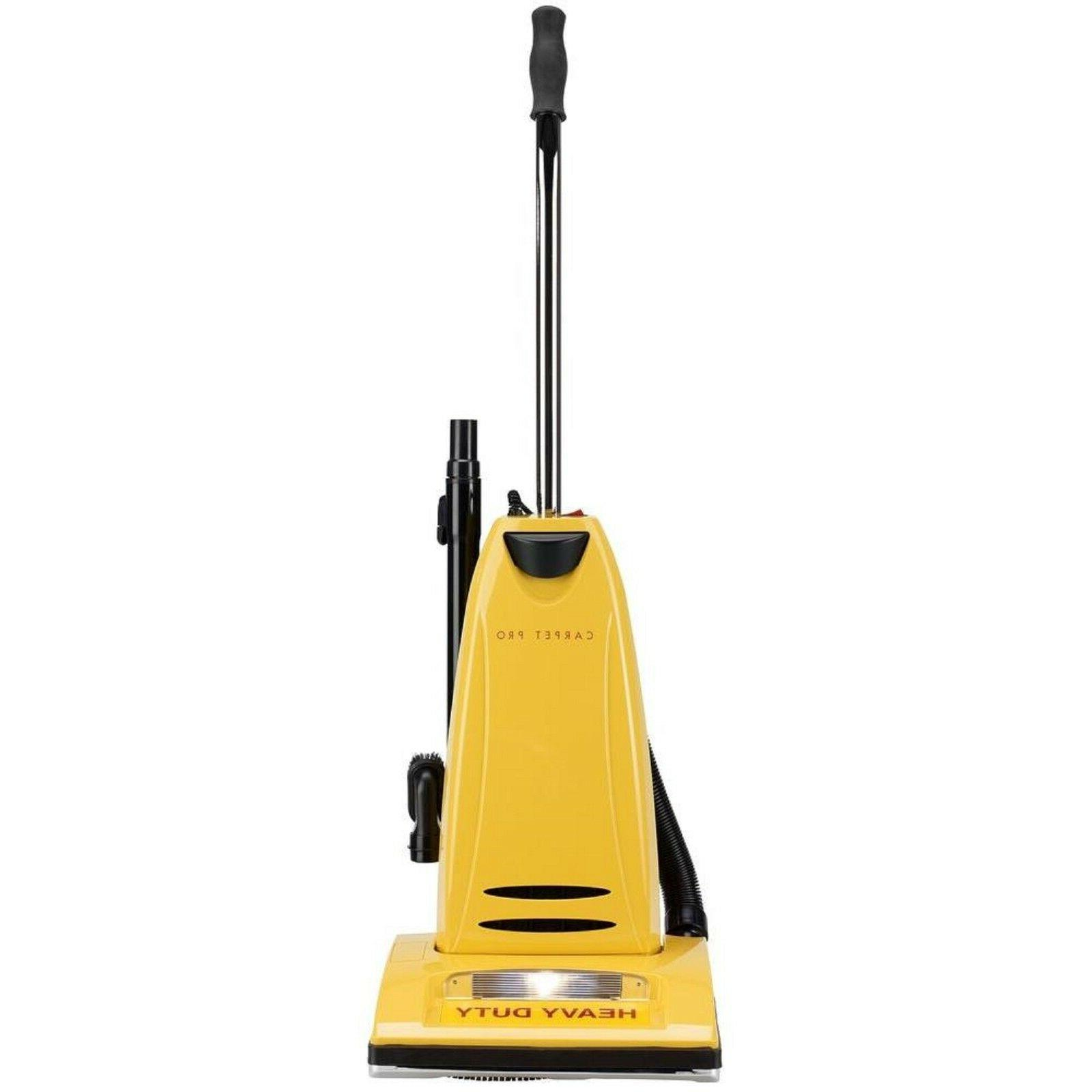 Carpet Pro Heavy Duty Household Upright Vacuum With ON BOARD