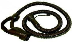 Filter Queen Hose, Complete 6' with Gas Pump Grip, black 112