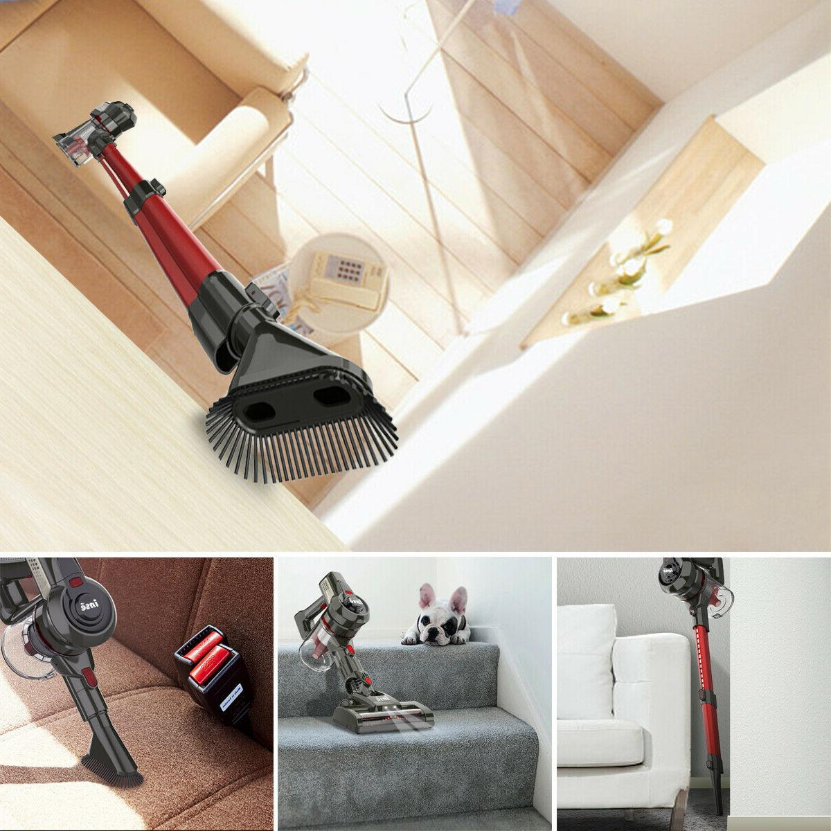 INSE Cordless Cleaner Stick Compact Bagless
