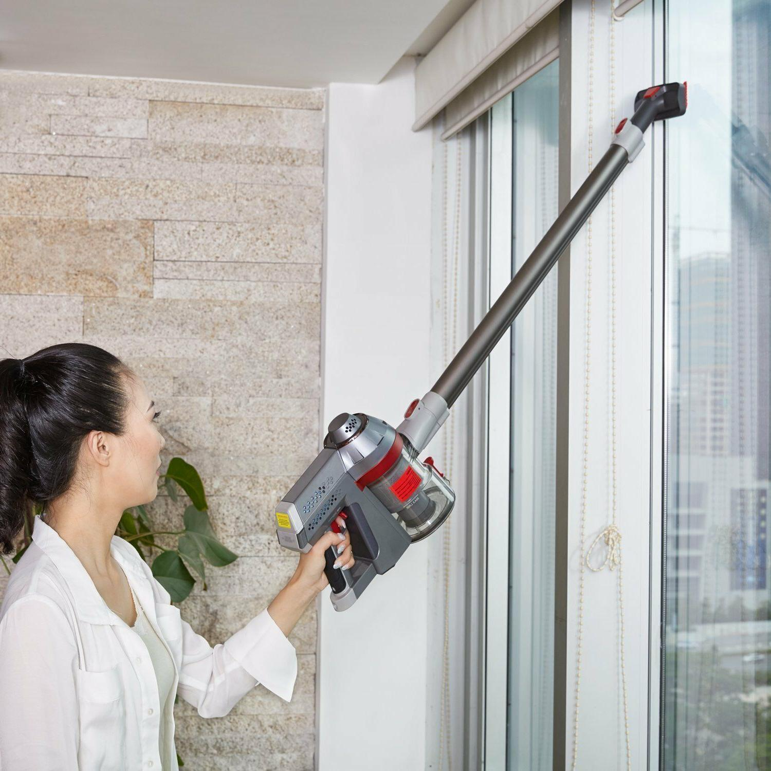 New Cordless Cleaner, 2 in 1 Vacuum lightweight,