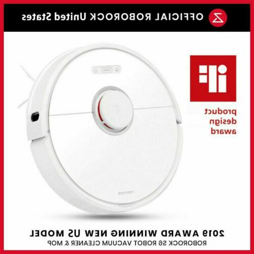 newest s6 smart robot white vacuum cleaner