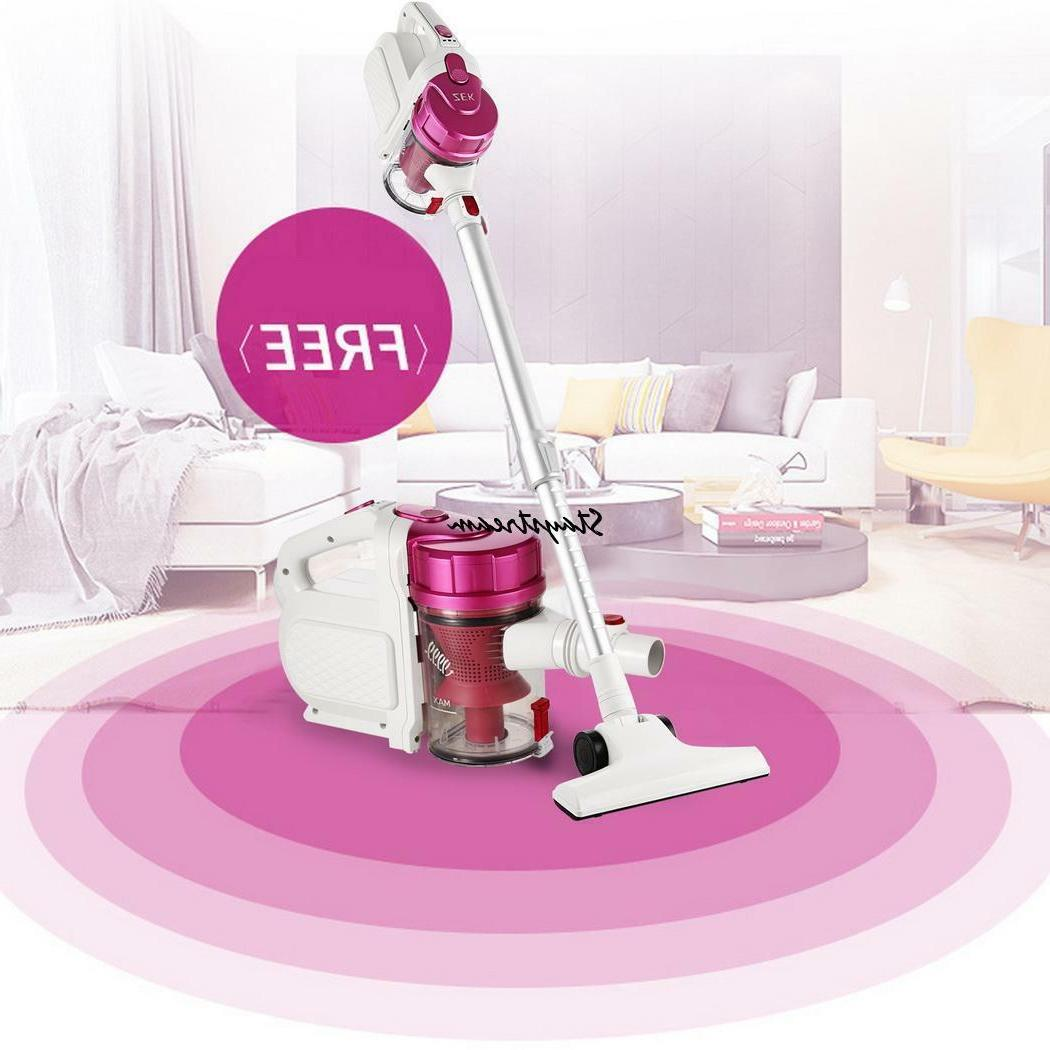 portable lightweight vacuum cleaner bagless carpet hard