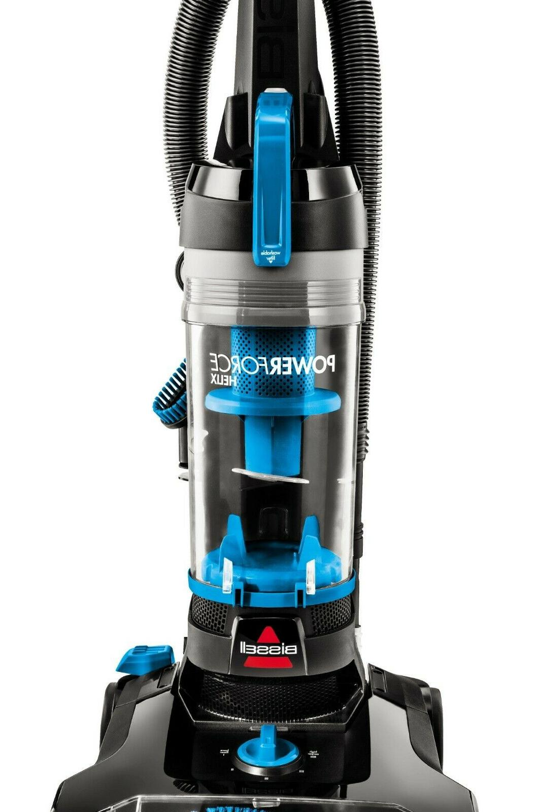 BISSELL PowerForce Blue Helix Bagless Upright Vacuum Cleaner