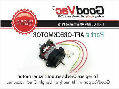 replacement oreck upright vacuum cleaner motor replaces