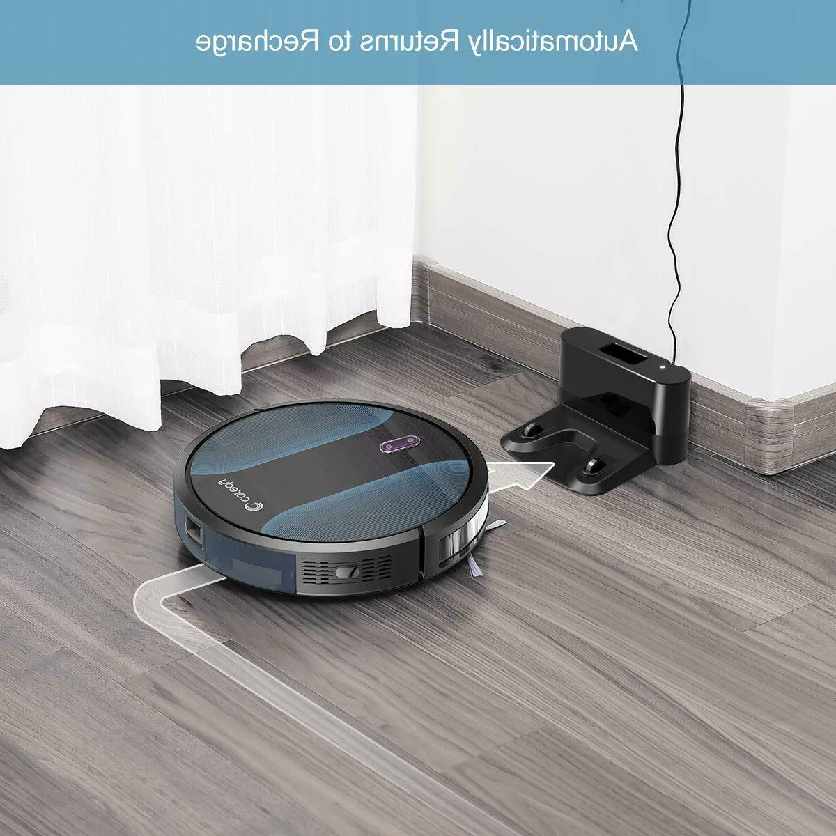 Coredy R500+ All-New Self-Charge Robotic Vacuums