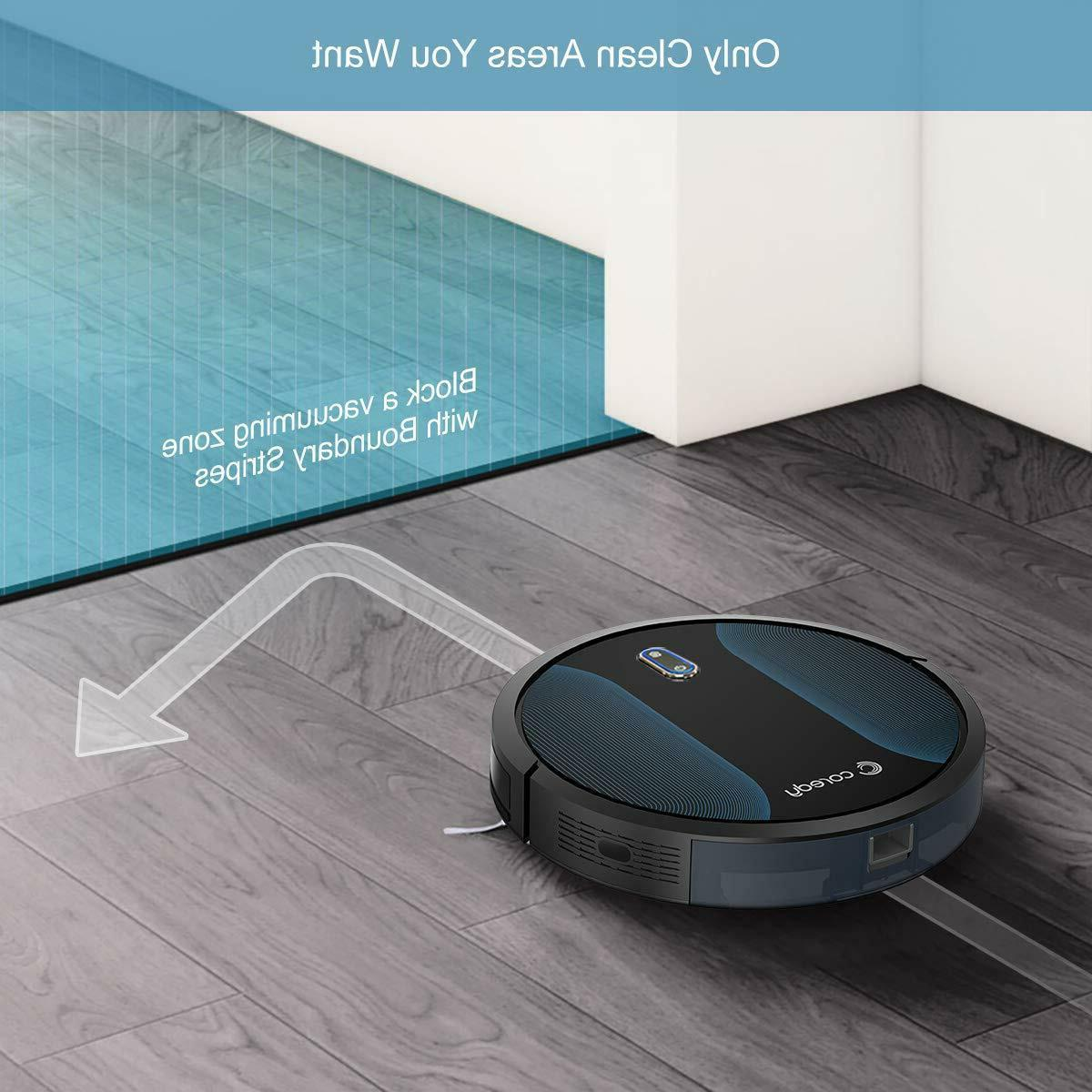 Coredy R500+ Upgraded Self-Charge Robotic Vacuums