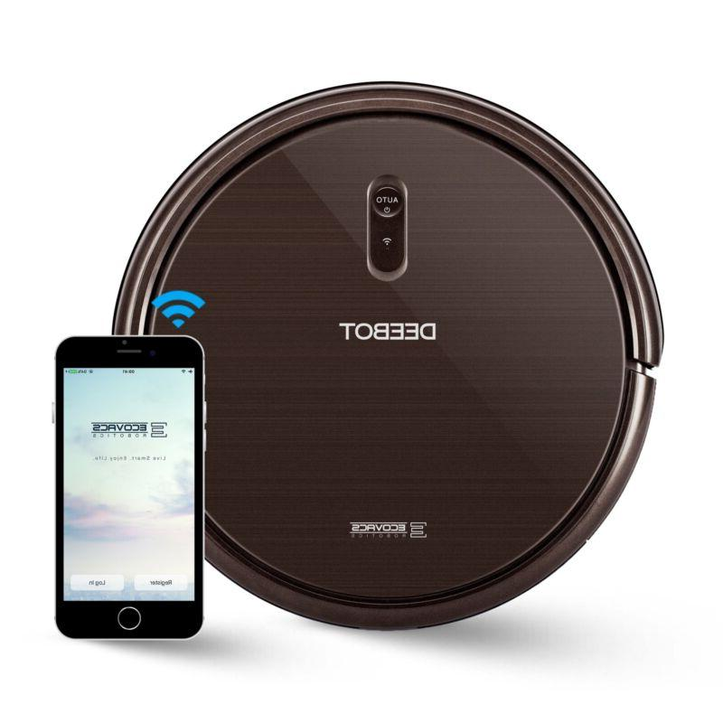 Robot Vacuum Cleaner Max Power Controls Carpets