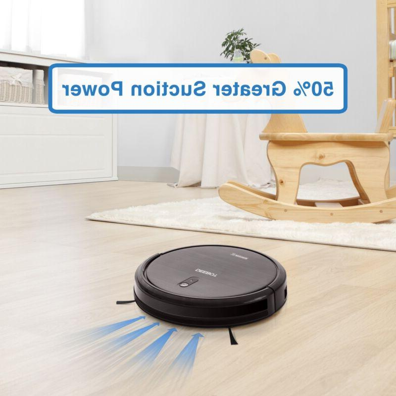 Robot with Max Power Controls Carpets