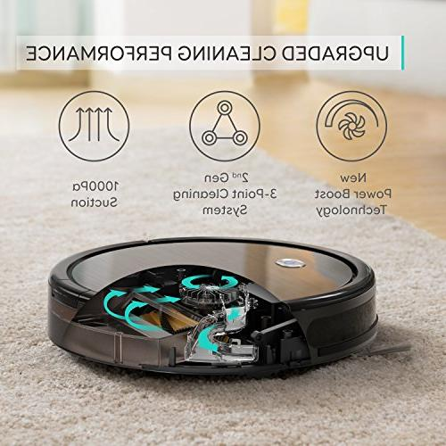 11+, High Suction, Self-Charging Robotic Vacuum for Pet, Hard Floors to