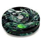 Skin Decal for iRobot Roomba 650 655 Vacuum / trippy glass 3