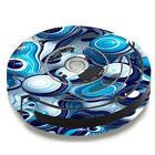 Skin Decal for iRobot Roomba 650 655 Vacuum / Mixed Blue Bub
