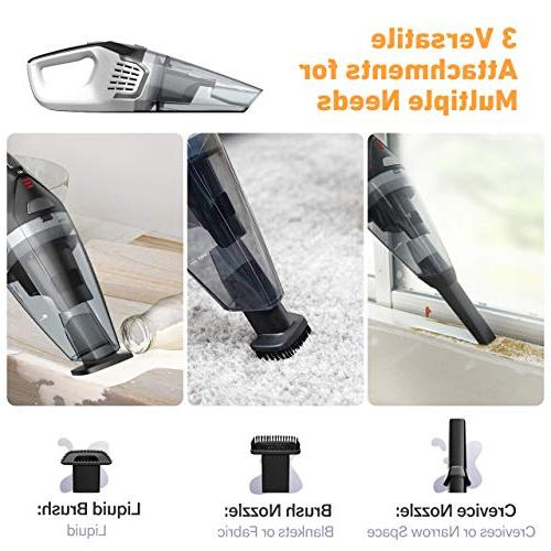 Homasy Upgraded Vacuum Cleaner Cordless, Cyclonic Quick Charge, Dry Vacuum Cleaner Hair, Home Car Cleaning