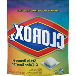 Clorox 2 Laundry Stain Remover and Color Booster Pack, Laund