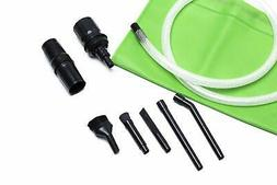 Green Label Micro Vacuum Attachment Kit - 7 Piece. Fits Most