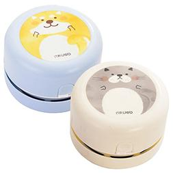 Ocamo Mini Cartoon Dust Vacuum Cleaner Portable Home Office