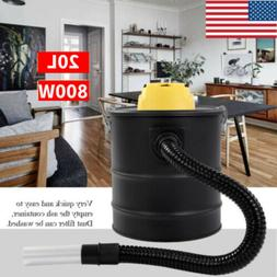 New 20L 800W Ash Vacuum Cleaner Household Hoover Cylinder Fo