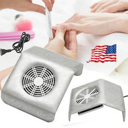 New Nail Art Vacuum Fan Cleaner Salon Suction Dust Collector