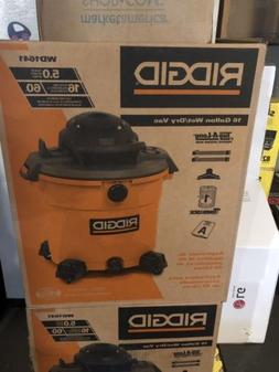 New RIDGID WD1641 16 Gallon Wet/ Dry Vacuum Cleaner Vac 5 HP