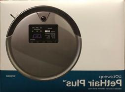 bObsweep PetHair Plus Robotic Vacuum Cleaner and Mop, Charco