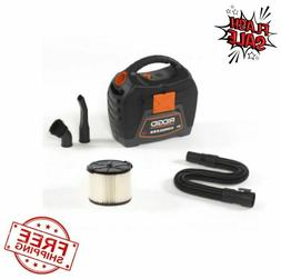 RIDGID Portable 3-Gallon 18V Cordless Filtered Wet Dry Vac V