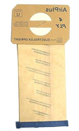 Electrolux & Proteam Type U Filter Upright Vacuum Paper Bags