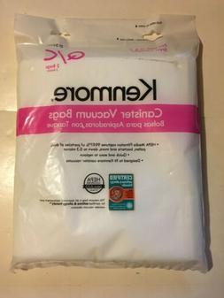 Kenmore Q HEPA Vacuum Bags Synthetic for Canister 2 PACK, Ne