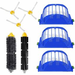 Replacement Brush Filter Kit for iRobot Roomba Aerovac 600 S