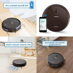 robot vacuum cleaner with max power suction
