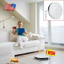 Robotic Vacuum Cleaner Powerful Quiet Self-Charging Floor Cl