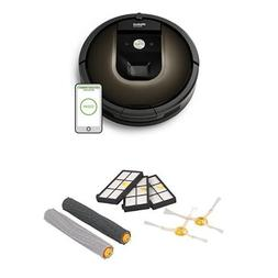 iRobot Roomba 980 Robotic Vacuum Cleaner with a Roomba 900 S