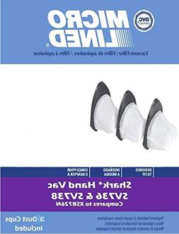 Shark Dust Cup Filter 3 Pack | Filter # XSB726N | For use wi