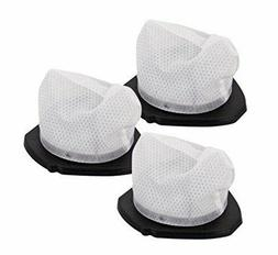 Shark XF769 Cordless Pet Perfect SV780 Dust Cup Filters, 3 P