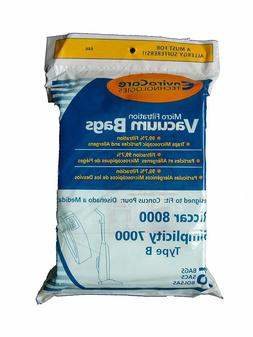 EnviroCare Replacement Vacuum Bags for Riccar 8000 and Simpl