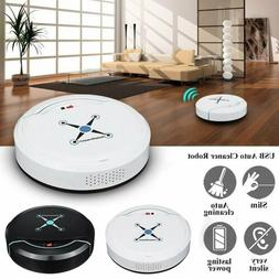 Self Navigated Rechargeable Smart Robot Vacuum Cleaner Auto