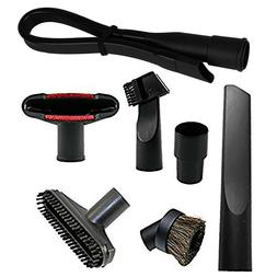 Vacuum Attachment Cleaner Kit Brush Nozzle Crevice Cleaning