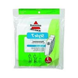 Vacuum Cleaner Bags GENUINE BISSELL STYLE 7 3 BAGS IN A PACK