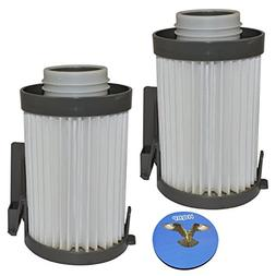 HQRP 2-Pack Washable Filter compatible with Eureka DCF-10 /