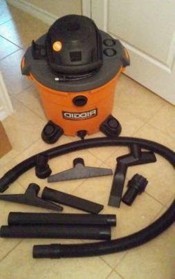 ridgid wd1640 16 gallon wet dry shop vacuum cleaner