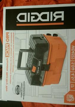 Ridgid WD4522 4.5 Gallon Pro Pack Portable Wet/Dry Vacuum