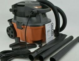Ridgid Wet Dry Vac 4 Gal. HP Portable Vacuum Cleaner Handhel