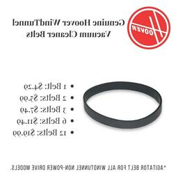 Hoover Wind Tunnel Vacuum Cleaner Belts Genuine Part# 38528