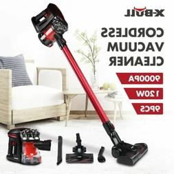 X-BULL 2-in-1 120W Cordless Vacuum Cleaner 9000PA Suction Br